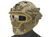 Matrix Legionnaire Full Head Coverage Helmet / Mask / Goggle Protective System (Color: Arid Desert)