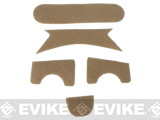Emerson Loop Hook and Loop Adhesive Strips for MICH Type Helmets (Color: Tan)