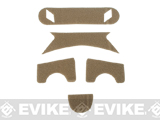 Emerson Hook and Loop Adhesive Strips for BJ Type Bump Helmets (Color: Tan)