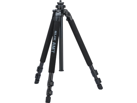 Hog Saddle SLIK DX700PRO Tripod (Color: Black)