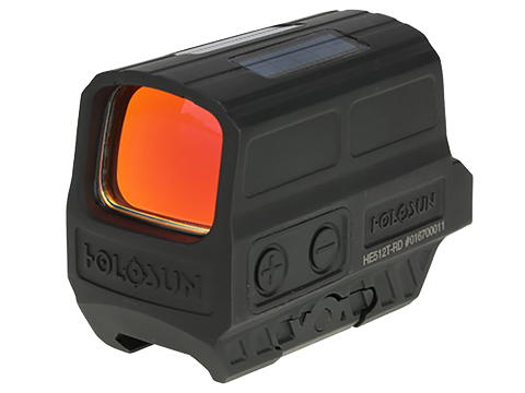 HOLOSUN HS512C Solar + Battery Powered Enclosed Reflex Sight (Type: Orange Dot)