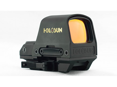HOLOSUN HS510C Solar + Battery Powered Open Reflex Sight w/ Dual Reticles