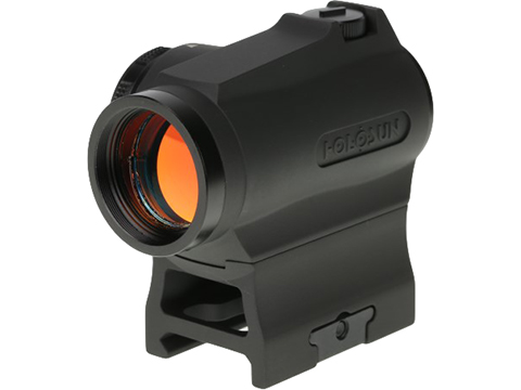 HOLOSUN HE403R Shake Awake Compact Red Dot Sight w/ Low & AR Mount