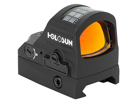 HOLOSUN HS507C X2 Solar + Battery Powered Micro Dot Reflex Sight w/ Circle Dot Reticle