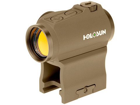 HOLOSUN HE503GU Shake Awake Compact Green Dot Circle Sight w/ Low & AR Mount