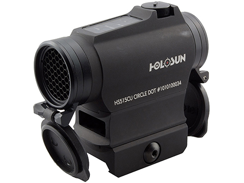 HOLOSUN HS515CU Shake Awake Compact Red Dot Circle Sight w/ QD Mount & Kill Flash