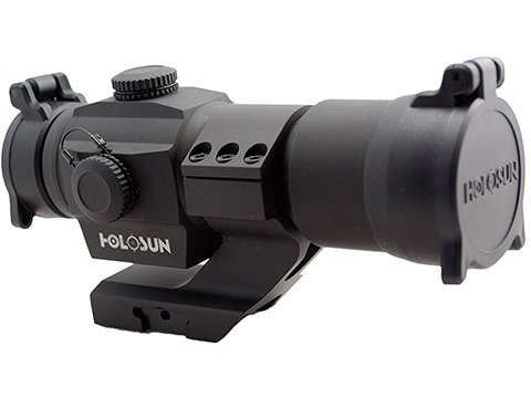 HOLOSUN HS506 Shake Awake 30mm Tube Red Dot Circle Sight w/ Cantilever Mount