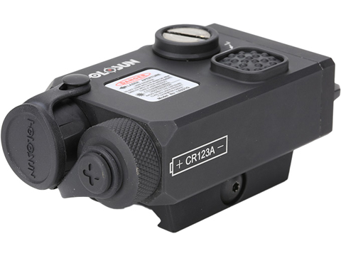 HOLOSUN LS221 Co-Axial Visible Red Laser/ IR Laser Designator