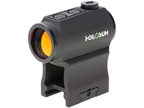 HOLOSUN HE403B Shake Awake Compact Green Dot Sight w/ Low & AR Mount