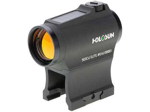 HOLOSUN HE503GU Solar Power Compact Green Dot Circle Sight w/ Low & AR Mount