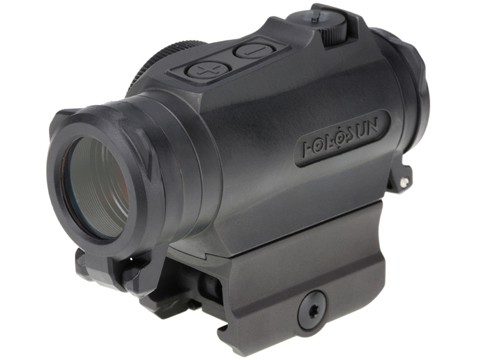 HOLOSUN HE515GT Shake Awake CNC Titanium Compact Green Dot Circle Sight w/ QD Mount & Kill Flash