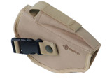 Tactical Belt Holster with integrated magazine pouch - Desert