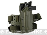 Blade-Tech WRS Level II Duty Holster w/ Thigh Rig (Pistol: 1911 Govt. / Right Hand / OD Green)
