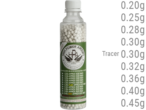 High Power Airsoft (HPA) US Lab Tested Precision Biodegradable 6mm Airsoft BBs