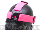 HERO Gear Adjustable Headband Mount for GoPro Wearable Cameras - Pink