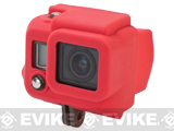 HERO Gear Silicone Cover for GoPro Hero 3 Wearable Cameras - Red