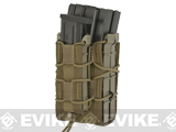 HSGI X2R/P TACO® Modular Double Rifle Magazine Pouch with Single Pistol Magazine Pouch (Color: Coyote Brown)