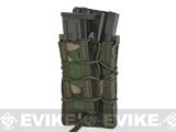 HSGI Double Decker TACO� Modular Single Rifle and Pistol Magazine Pouch (Color: MOLLE / Woodland)