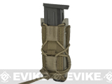 HSGI Pistol TACO® Modular Single Pistol Magazine Pouch (Color: MOLLE / Coyote Brown)