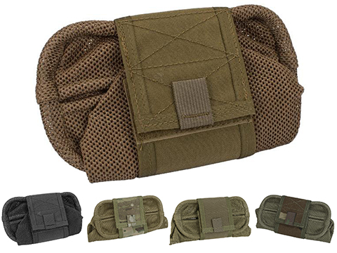 HSGI Mag-Net Tactical Mesh Dump Pouch (Color: Coyote Brown)