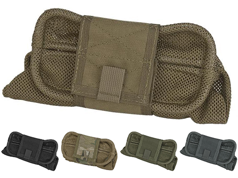 HSGI Belt Mount Mag-Net Tactical Mesh Dump Pouch (Color: Coyote Brown)