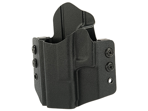 High Speed Gear Inc OWB Kydex Holster for Glock Pistols (Model: Glock 19 23 32 / Left Hand / Black)