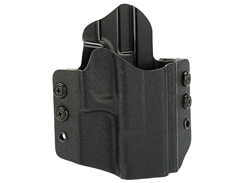 High Speed Gear Inc OWB Kydex Holster for Glock Pistols (Model: Glock 19 23 32 / Right Hand / Black)