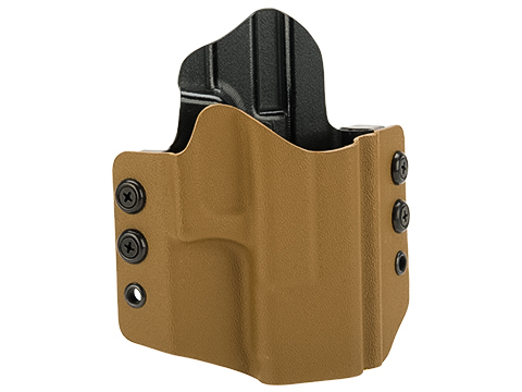High Speed Gear Inc OWB Kydex Holster for Glock Pistols (Model: Glock 19 23 32 / Right Hand / Coyote)