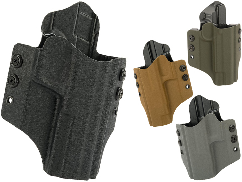 High Speed Gear Inc OWB Kydex Holster (Model: Glock 17 22 31 / Right Hand / Coyote Brown)