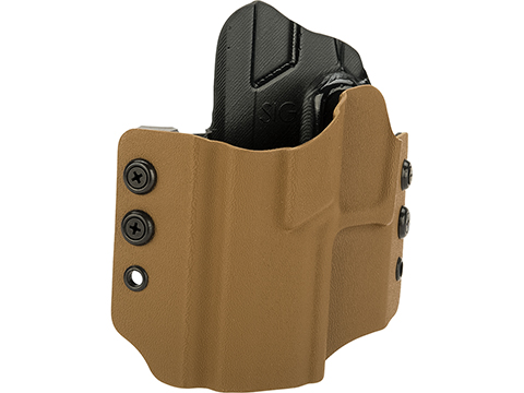 High Speed Gear Inc OWB Kydex Holster for SIG Pistols (Model: SIG P320 Compact / Left Hand / Coyote)