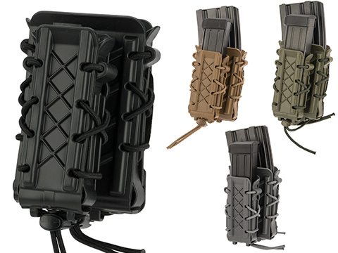 High Speed Gear HSGI Rifle/Pistol Double Decker Taco Magazine Pouch (Color: Black)