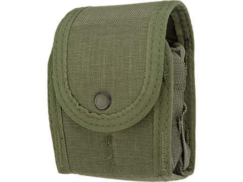 High Speed Gear HSGI Duty Double Handcuff Taco (Color: OD Green)