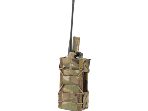 HSGI Duty Multi-Access Comm Taco with MOLLE  Mount (Color: Multicam)