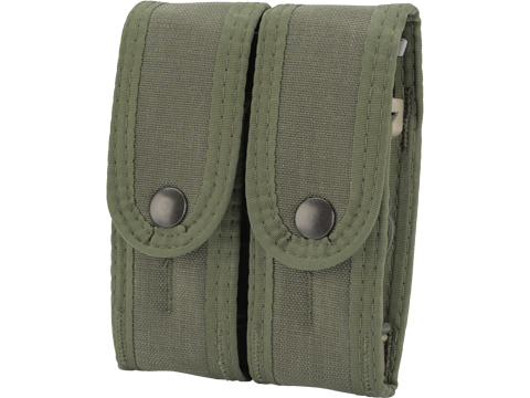 HSGI Covered Duty Double Pistol TACO with Universal Mount (Color: OD Green)