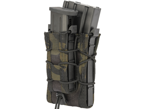 HSGI Double Decker TACO® Modular Single Rifle and Pistol Magazine Pouch (Color: MOLLE / Multicam Black)