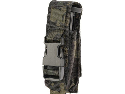 High Speed Gear HSGI Single  Modular Pistol Magazine MOLLE Pouch (Color: Multicam Black)