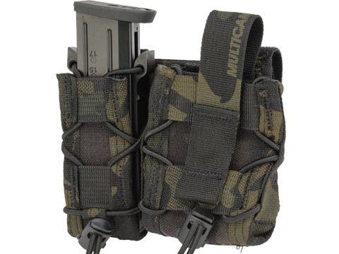 HSGI High Speed Gear Duty LEO Open Top Belt Attachment TACO (Color: Multicam Black)