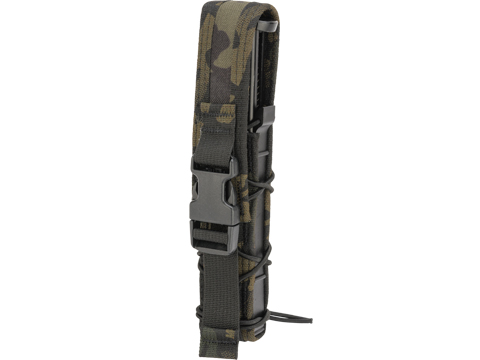 HSGI Covered Extended Pistol TACO® Modular Single Pistol Magazine Pouch (Color: Multicam Black)
