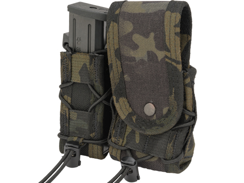 HSGI High Speed Gear Duty LEO Covered MOLLE Mount TACO (Color: Multicam Black)