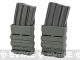 Matrix Fast Hard Shell Magazine Holster - 2x Rifle Mag Configuration (Color: Foliage Green)