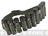 Enola Gaye Hang Ten Belt / Bandolier for Airsoft Smoke Grenades (Color: OD)