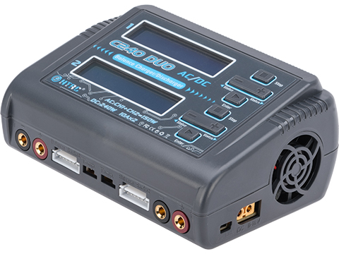 HTRC C240 DUO Dual Channel Multi-Function LiPo / Li-Ion / NiMH Smart Balance Charger