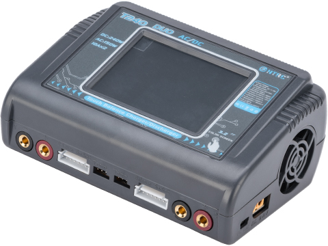 HTRC T240 DUO Touchscreen Dual Channel Multi-Function LiPo / Li-Ion / NiMH Smart Balance Charger