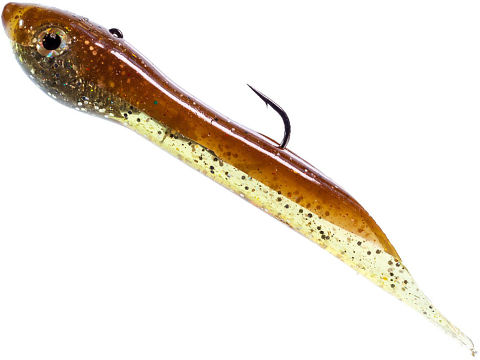Hook Up Baits Handcrafted Soft Fishing Jigs (Color: Brown Gold / 8 / 4 oz)