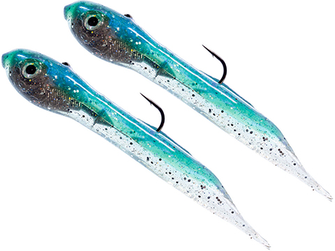 Hook Up Baits Handcrafted Soft Fishing Jigs (Color: Mint / 4 / 3/8 oz)