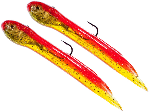 Hook Up Baits Handcrafted Soft Fishing Jigs (Color: Red Crab / 4 / 5/8 oz)