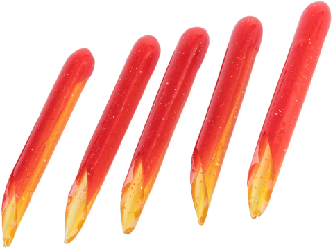 Hook Up Baits Hand Crafted Replacement Bodies for Jigs (Color: Red Crab / Large)
