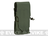 Blue Force Gear Ten-Speed Single Stack Double M4 Mag Pouch - Camo Green