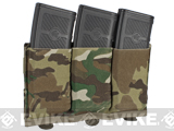 Blue Force Gear Ten-Speed Triple M4 Mag Pouch - Multicam