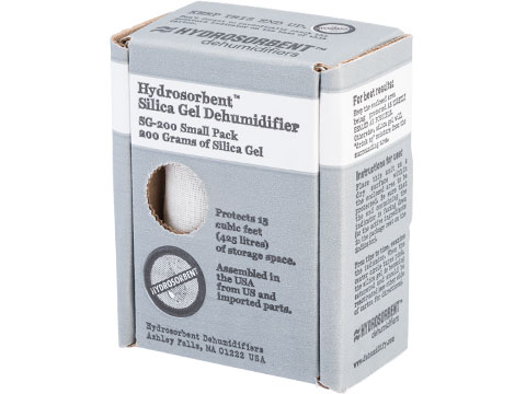 Hydrosorbent Silica Gel Dehumidifier (Model: Small / Blue Silica)
